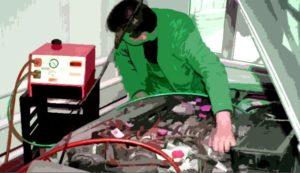 чистка форсунок и промывка инжектора