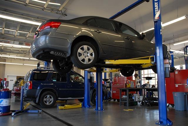 ремонт машин в автосервисе