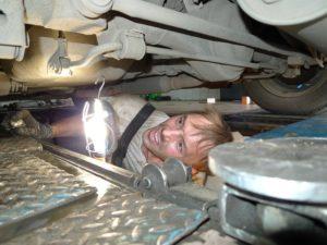 Ремонт ходовой части автомобиля в Подольске